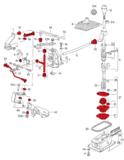 Shift repair kit Golf mk2_8