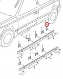 Clip stootlijst deur_9